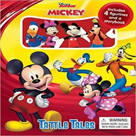 DISNEY JR MICKEY TATTLE TALES STORY BOOK