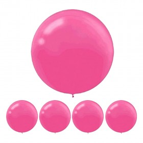 1PC 36 Inch Pink Oval Latex Party Balloons for Wedding Baby Shower Birthday Party Decorations