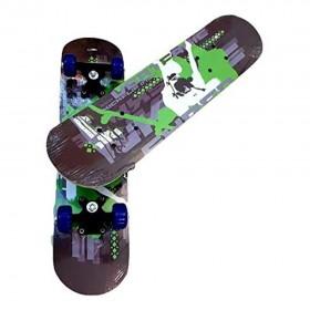 Skateboard Maple Wood Complete Board Scooter (60x 15x 8cm) Skateboards for Kids Children Teens Beginners Girls Boys Birthday Gift