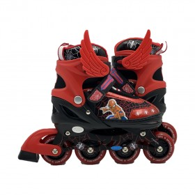 Mesuca Marvel Spider-Man Inline Skate Combo Set SIZE EURO 35-38