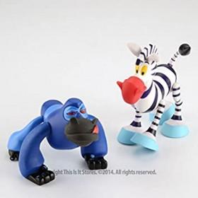 MGA Zanymals 2-Pack - Jungle Friends (Zebra/Gorilla)