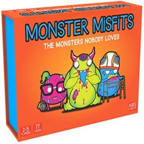 Monster Misfits - A Ridiculous Card Game