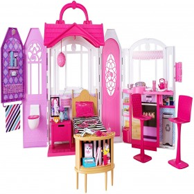 Mattel Barbie Glam Getaway Portable Dollhouse