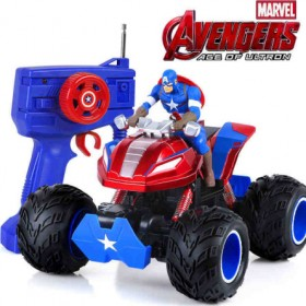 Captain America 4CH Remote Control Off Road Vehicle High Speed Car RC Toys