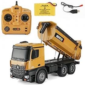 Big Dumper RTR 2.4GHz 10 channel 1:14 metal HUINA 573 RC Drum truck 1:14 10CH 1573 metal big RC Trucks