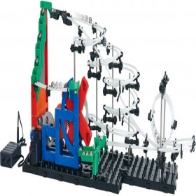 EMOB SpaceRail with steel 8600 mm long balls endless game rollercoaster learning Educational Level 1 232  (Multicolor)