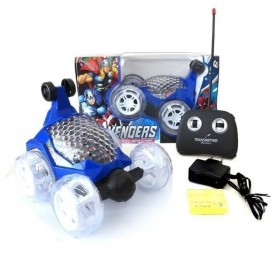 Avengers 360° Rotating with Light & Music Acrobatic Stunt Car