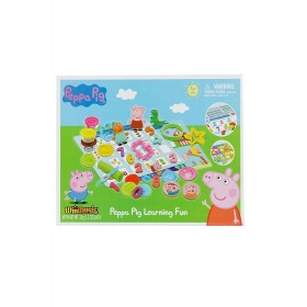Peppa Pig Learning Fun Clay & Dough for Kids