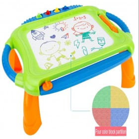 Kids colorful magnetic word pad educational drawing board table toy