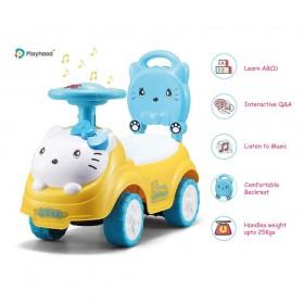 Kitty tambourine Push  Car