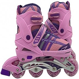 Skate inline Pink and Blue Size Euro 31-34