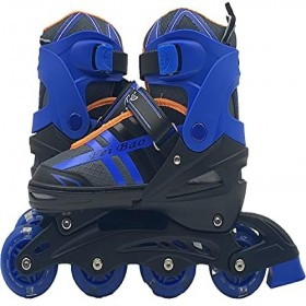 Skate inline Black and Blue Size Euro 39-42