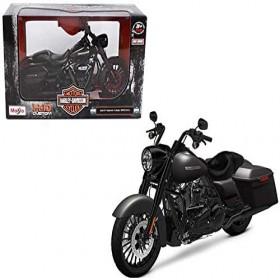 Maisto 2017 Harley Davidson King Road Special Motorcycle Model, Black