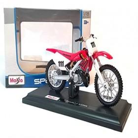 Maisto M34007-336 1:18 Motorbike Honda CR250R-18