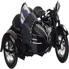 Maisto 1:18 Harley Davidson 1948 FL Panhead W Sidecar Diecast Model Motorcycle