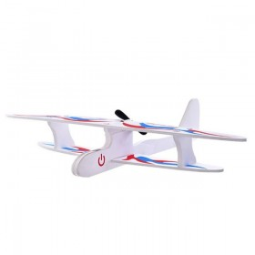 Handheld USB Charging Foam Glider For Kids Outdoor Electric Cyclotron Interactive Airplane