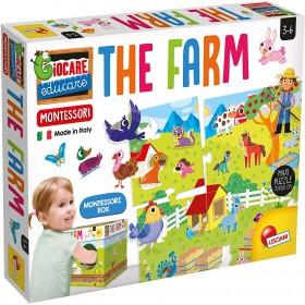 Lisciani EX72484 Montessori Maxi The Farm