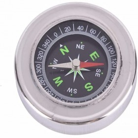 Metal Stainless Steel Portable Compass Student Outdoor Sports Compass 60mm,outdoor Hiking