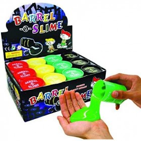 Asian Hobby Crafts Kids Barrel O Slime Toy 5 Assorted colors, 7cm