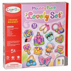 DIY Painting Easter Magnets Art Craft Making Set for Kids DIY Plaster Painting Graffiti Easter Egg for Fridge Dropship