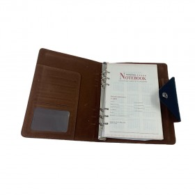 Personal Notebook 8.5 INCH BLACK/GRAY