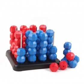 Child strategy chess board game 3d match connect four