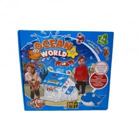 OCEAN WORLD 3D PAPER PUZZLE HOUSE