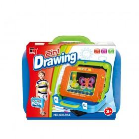 DRAWING BOARD Drawing board 2in1 628-81A