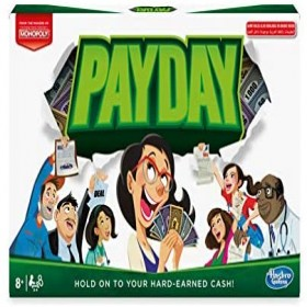 Hasbro E0751 Monopoly Payday - 8 Years & Above