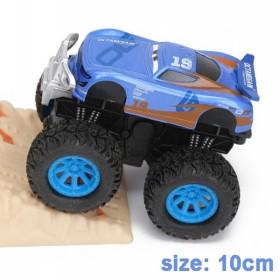 Disney Pixar - Kids Metallic Toy Car, 3 2 Big Foot Metal Car, Lightning McQueen, Mater, Rhapsody, Giant Wheels, Toys, Gift