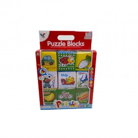 Play & Learning Puzzle Blocks