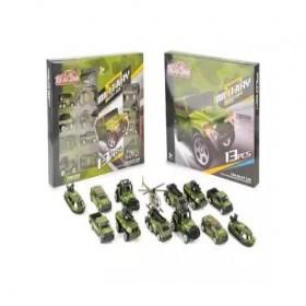 Military Alloy Car Set(13PCS)