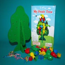 "Developing toy Lacing ""My fruit tree"", art. 108"