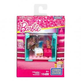 Mattel Mega Bloks Barbie Adopt a Pet Movie House Chihuahua