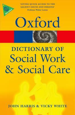 A Dictionary of Social Work and Social Care - Paperback