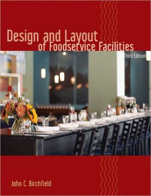 Design and Layout of Foodservice Facilities - Hardback, 3rd Revised edition
