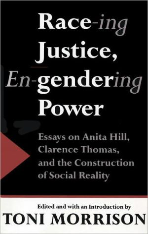 RACE ING JUSTICE, ENGENDERING POWER