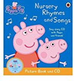 Peppa Pig: Nursery Rhymes and Songs - Paperback, Contains Paperback and CD-Audio (Audiob