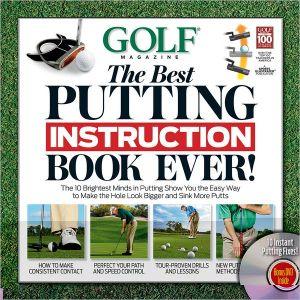GOLF THE BEST PUTTING INSTRUCTION BOOK E