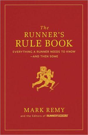 The Runner's Rule Book - Hardback