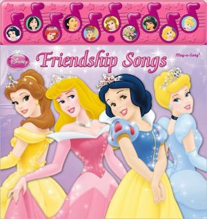 Disney Princess: Friendship Songs - Novelty book/Other