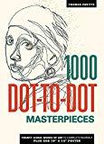 1000 Dot-To-Dot: Masterpieces - Trade Paperback/Paperback