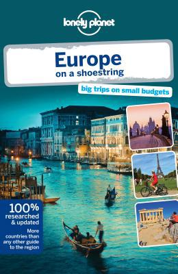 Lonely Planet Europe on a Shoestring - Paperback, 8th Revised edition