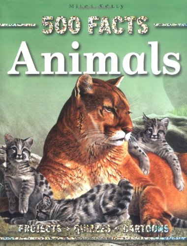 500 Facts Animals - Paperback