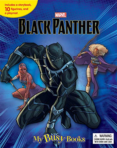 BLACK PANTHER MY BUSY BOOKS