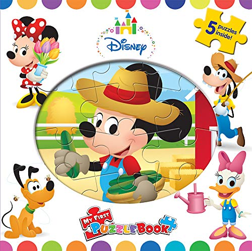 DISNEY MICKEY MY FIRST PUZZLE BOOK