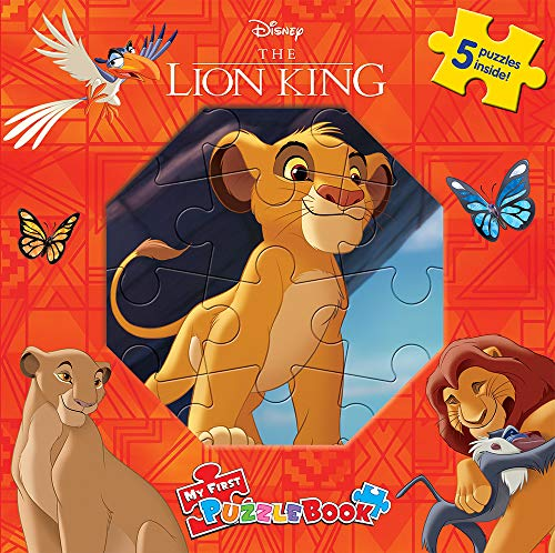 DISNEY LION KING MY FIRST PUZZLE BOOK