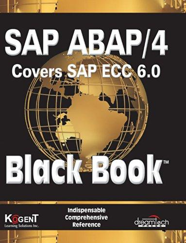 SAP/ABAP/4 COVERS SAP ECC 6.0 BLACK BOOK
