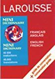 LAROUSSE FRENCH ENGLISH FRENCH MINI D