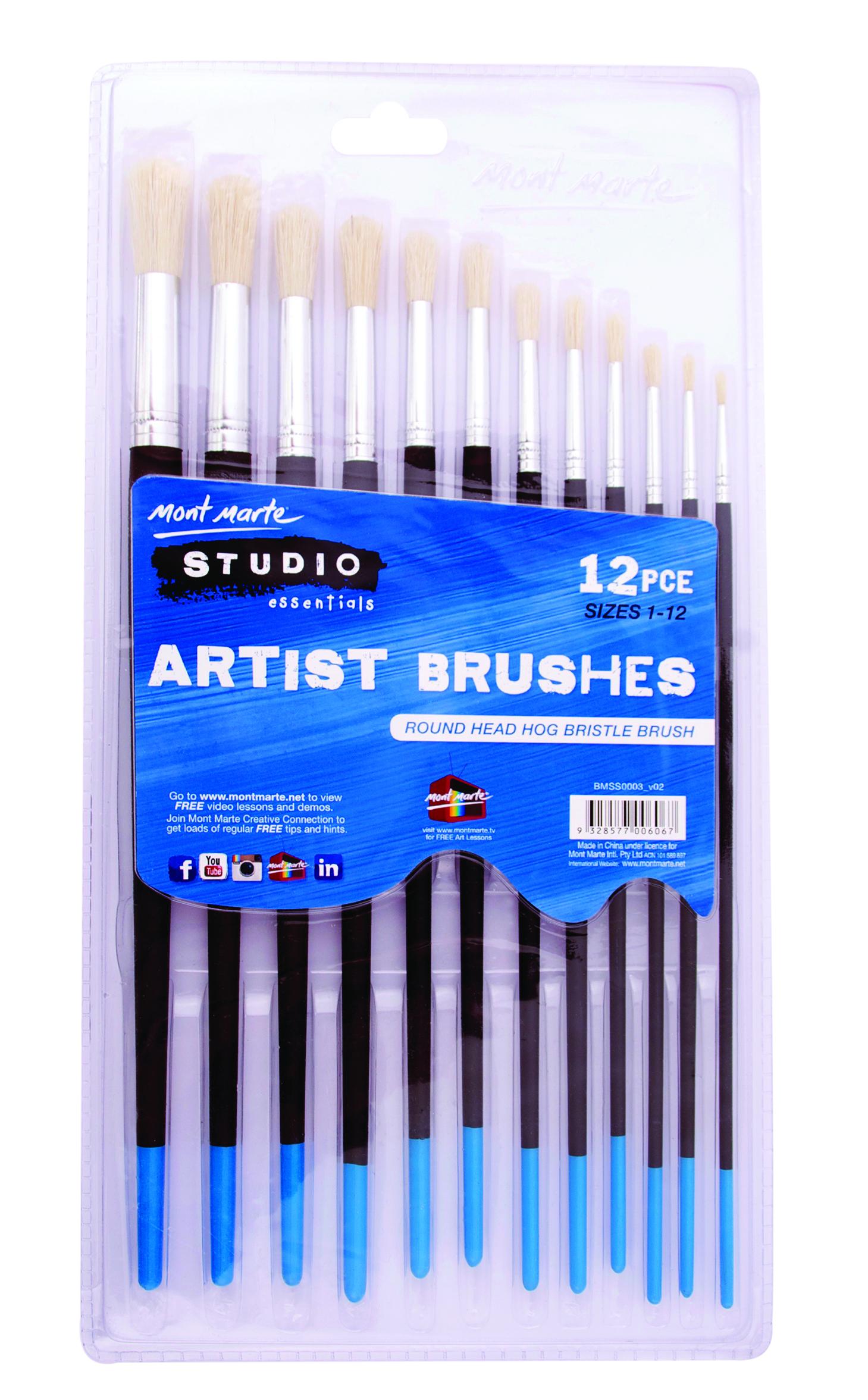 ARTIST BRUSH SET 12PCS